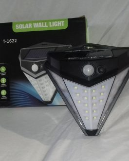 Foco Solar 36 led triangular con sensor de movimiento
